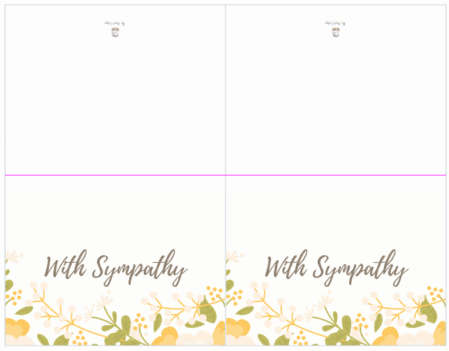 Free Printable Sympathy Cards Best Of A Bundle Of Joy & some Heartbreaking News with Printable
