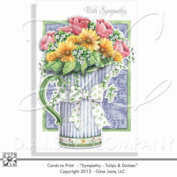 Free Printable Sympathy Cards Fresh Daisie Pany Digital Art Svg Png Illustrations Party
