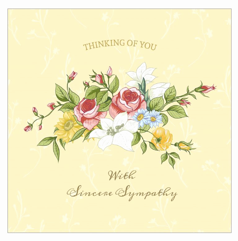 Free Printable Sympathy Cards New 7 Free Printable Condolence and Sympathy Cards