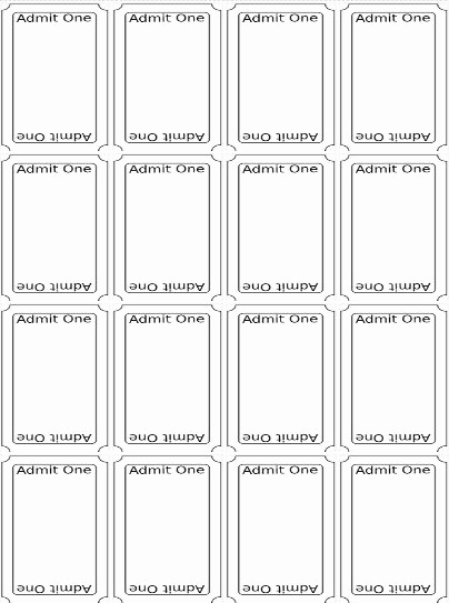 Free Printable Ticket Template Awesome Best 20 Ticket Template Ideas On Pinterest