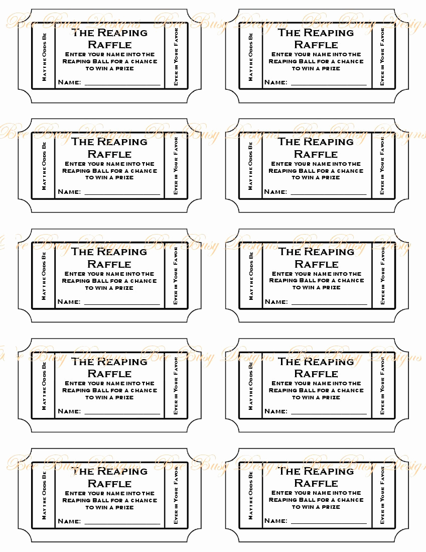 Free Printable Ticket Template Beautiful Free Printable Raffle Ticket Template Easytouse Free