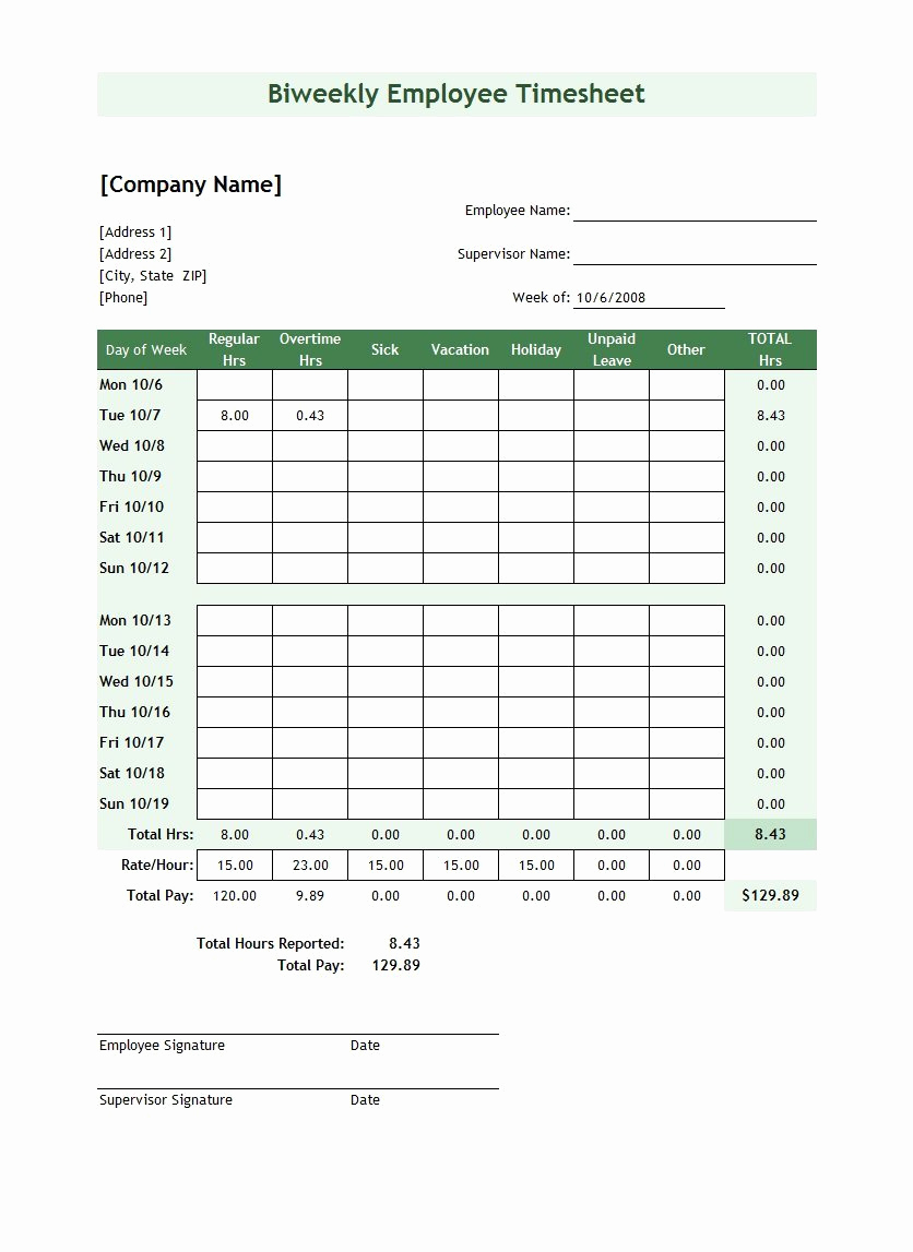 Free Printable Time Sheets Pdf Elegant 41 Free Timesheet Time Card Templates Free Template