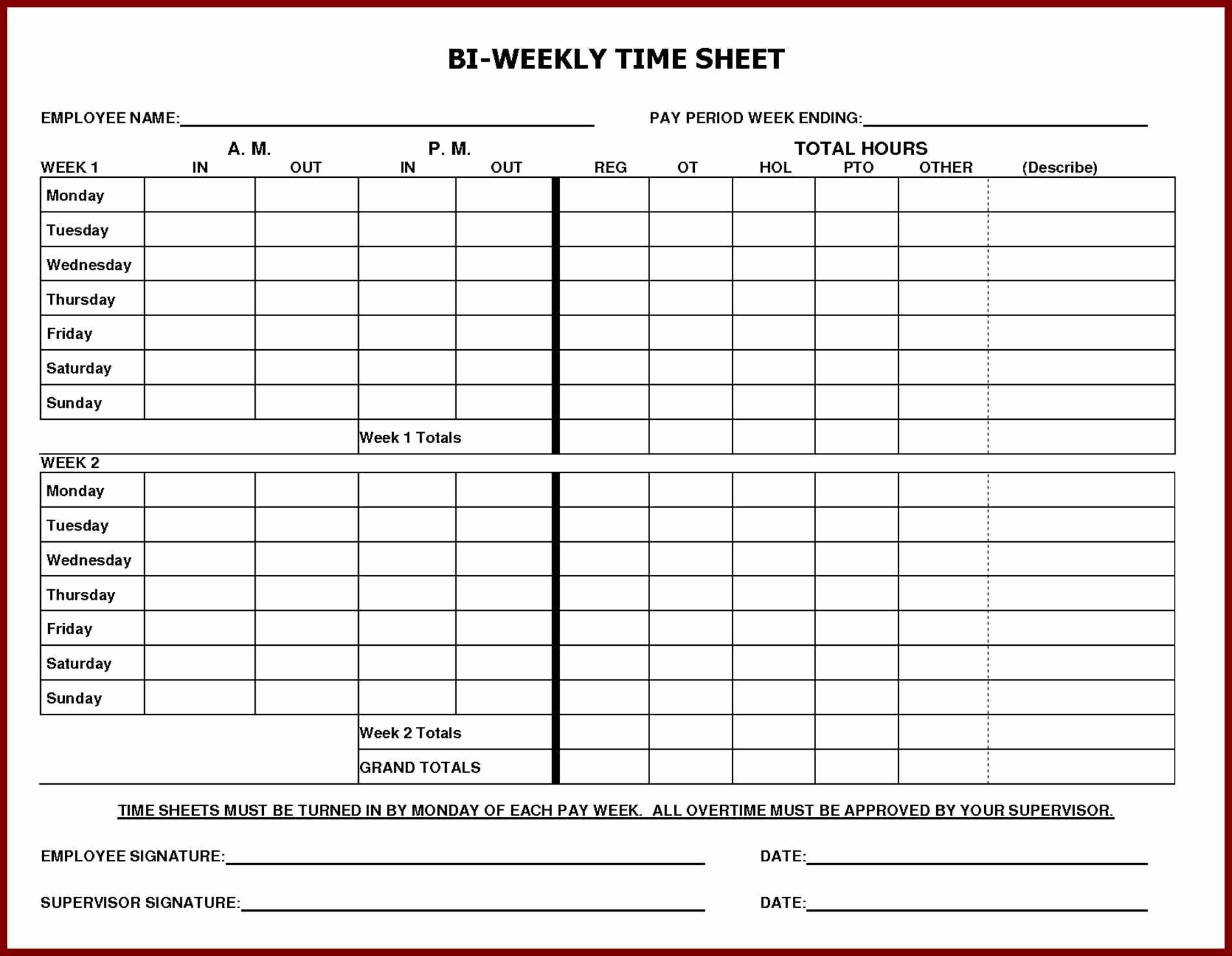 Free Printable Time Sheets Pdf New Daily Time Sheet Printable Printable 360 Degree