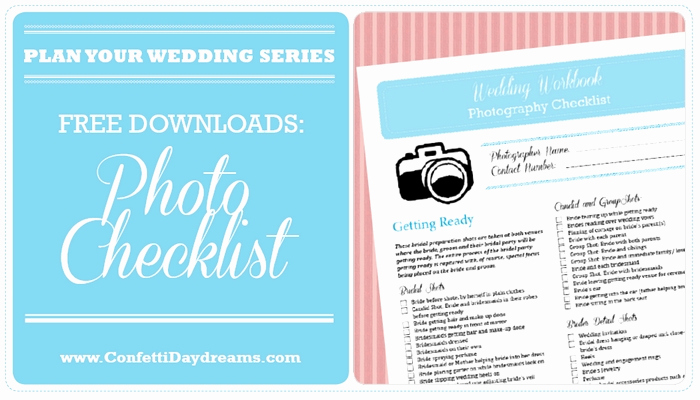 Free Printable Wedding Checklist Beautiful Wedding Graphy Checklist Free Printable