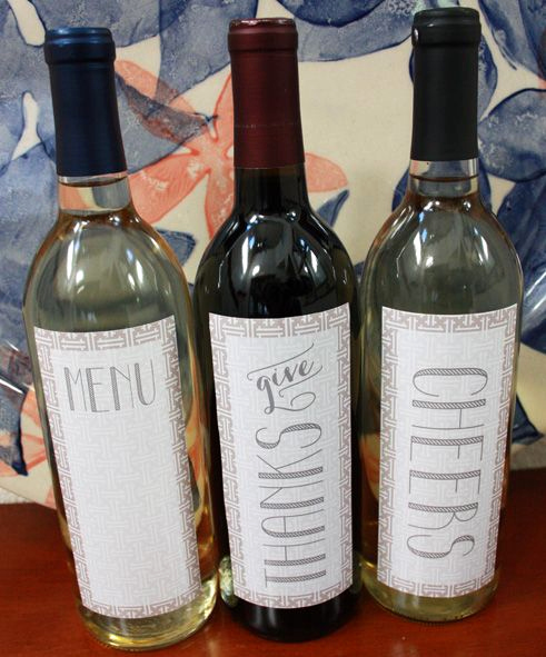 Free Printable Wine Labels Awesome 110 Best Images About Christmas On Pinterest