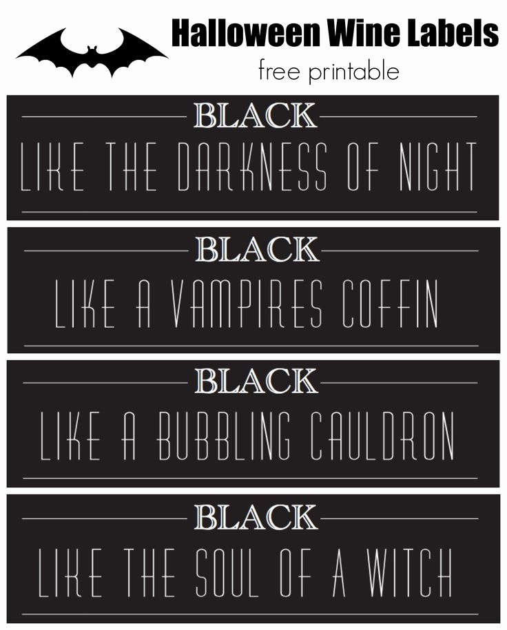 Free Printable Wine Labels Beautiful 152 Best Images About Halloween On Pinterest