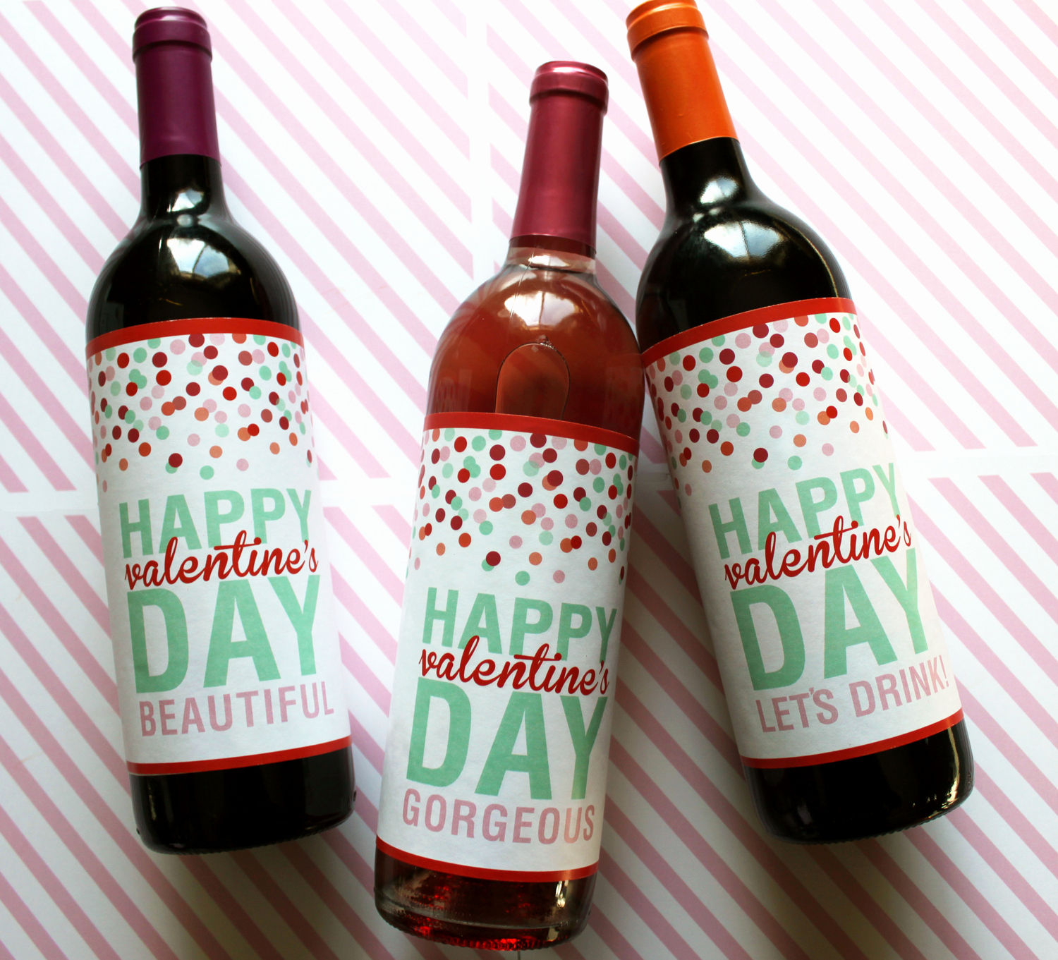 Free Printable Wine Labels Best Of Valentine's Day T Idea