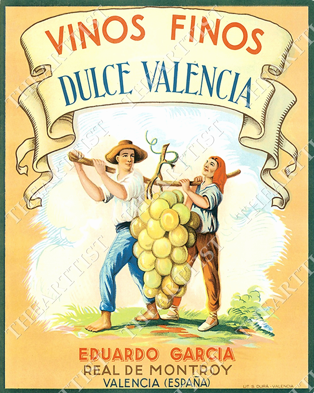 Free Printable Wine Labels Luxury Vintage Wine Label Vinos Finos Dulce Valencia Bar Art Game