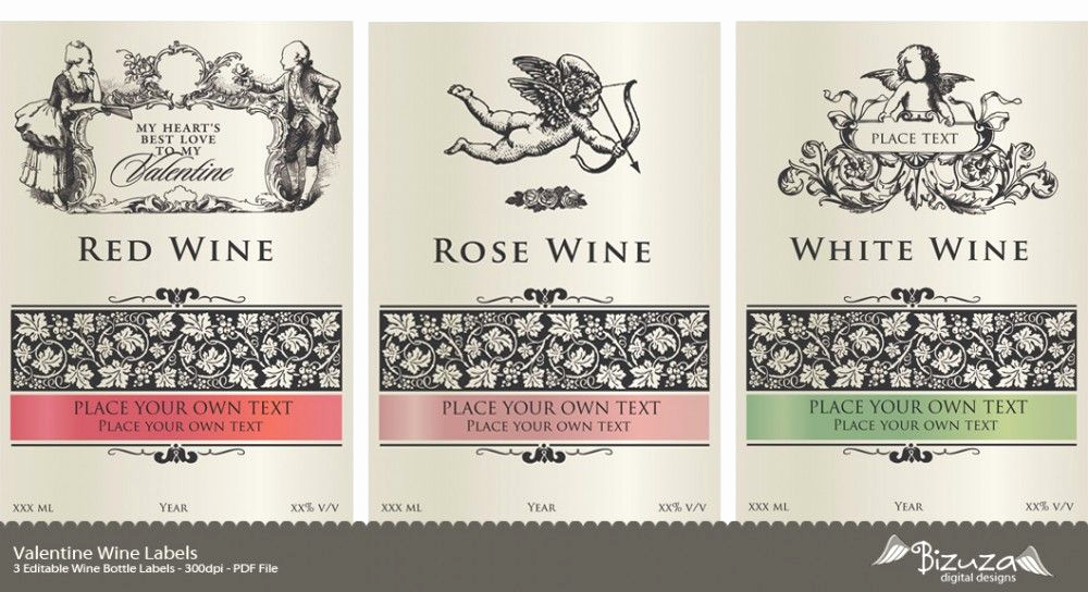 Free Printable Wine Labels New Printable Wine Label