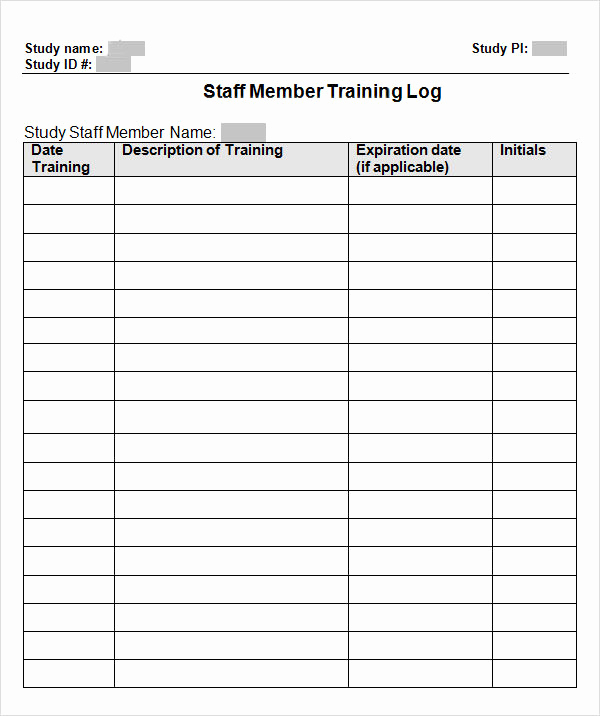 Free Printable Workout Log Sheets Beautiful 9 Free Training Log Templates Pdf Word