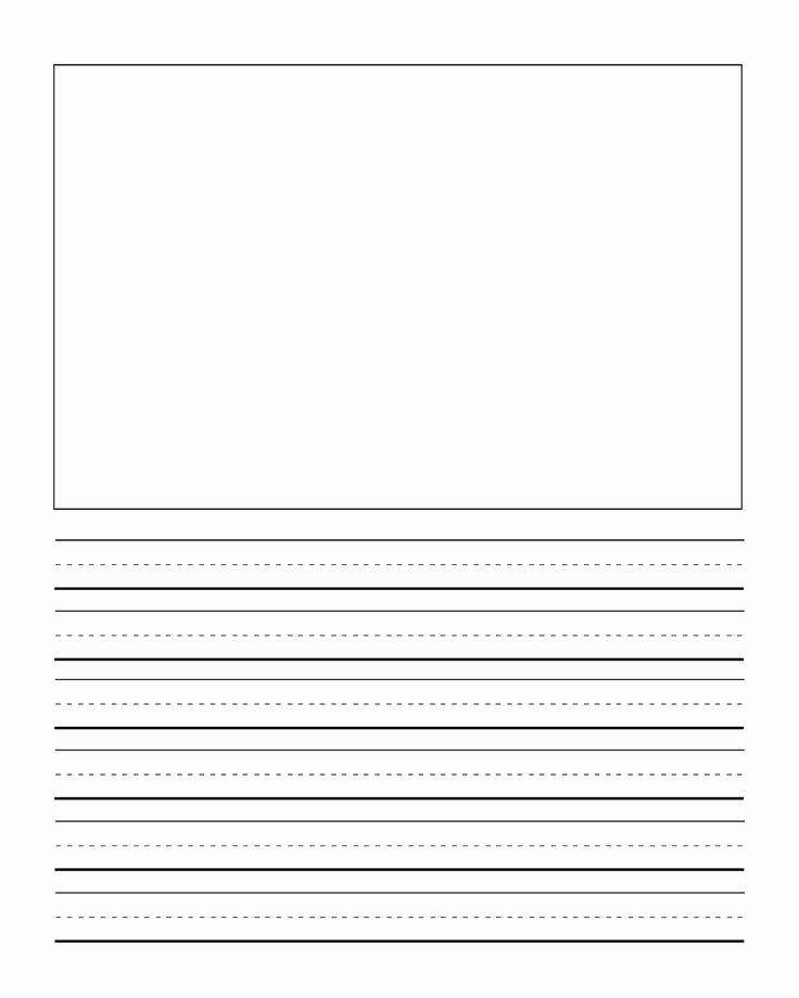 Free Printable Writing Paper Best Of First Grade Writng Paper Template with Picture