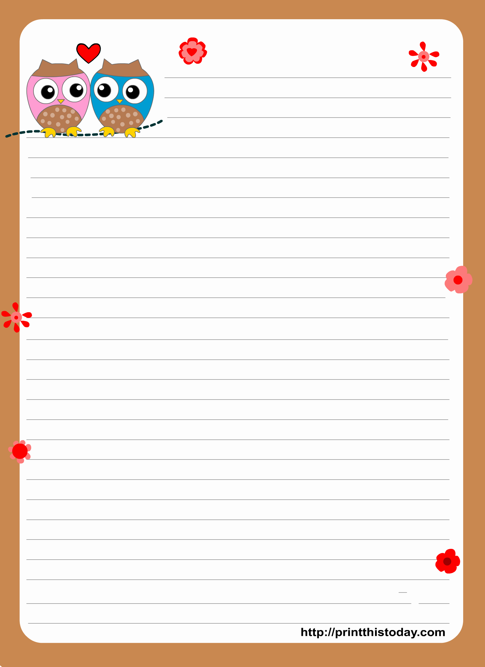 Free Printable Writing Paper Elegant 1000 Images About Free Printable Stationary On Pinterest