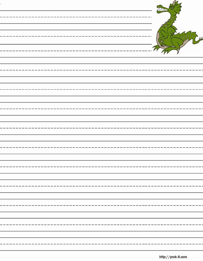 Free Printable Writing Paper Fresh Handwriting Paper to Print