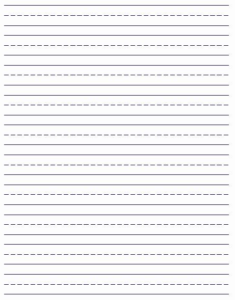 Free Printable Writing Paper Inspirational Free Printable Handwriting Paper