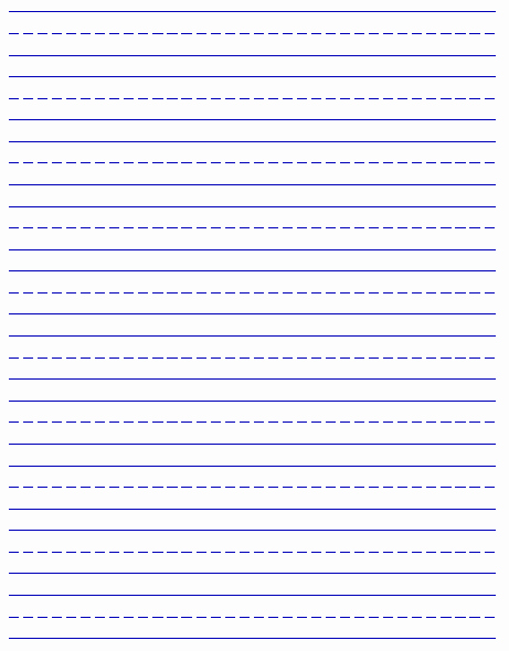 Free Printable Writing Paper Lovely Printable Handwriting Paper New Calendar Template Site