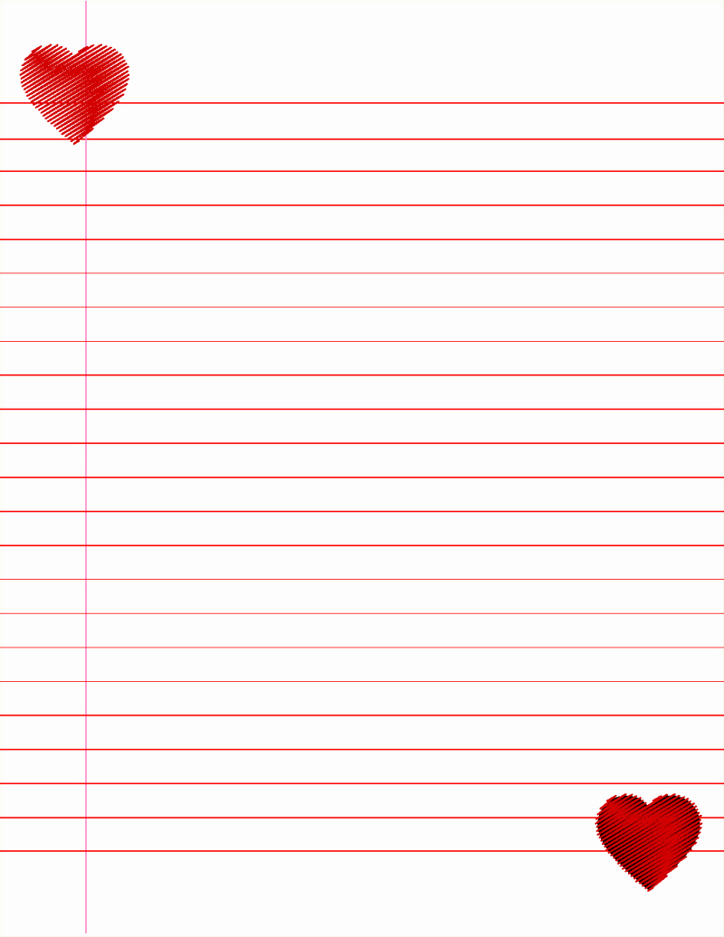 Free Printable Writing Paper Luxury 14 Lined Paper Templates Excel Pdf formats
