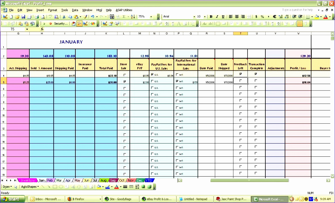 Free Profit and Loss Template Beautiful 8 Profit and Loss Statement Excel Template Free