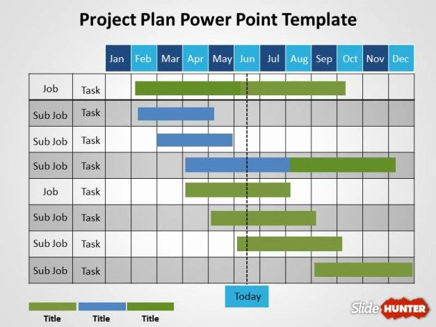 Free Project Plan Template Luxury Free Project Plan Powerpoint Template