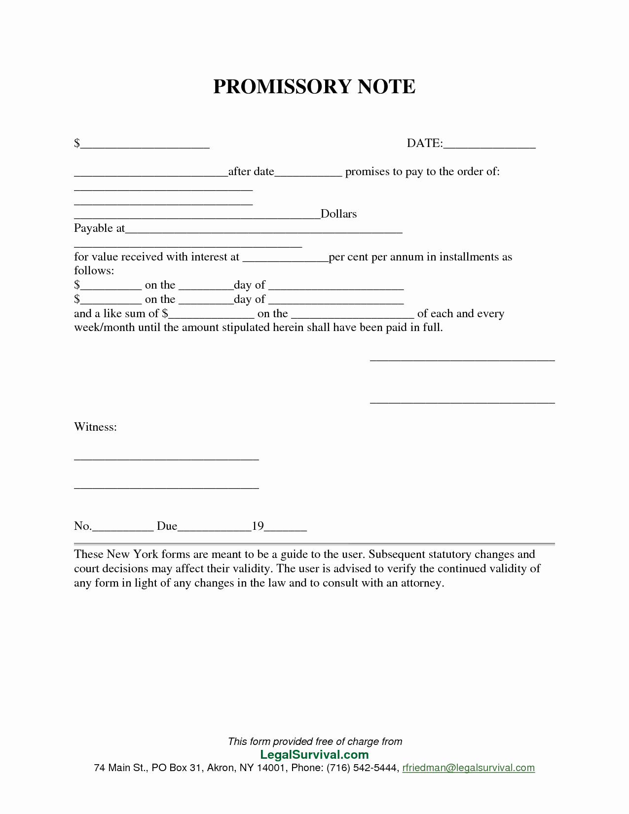 Free Promissory Note Template Word New Free Promissory Note Template Pdf Free Download
