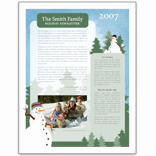 Free Publisher Newsletter Templates Beautiful 8 Great Microsoft Publisher Newsletter Templates