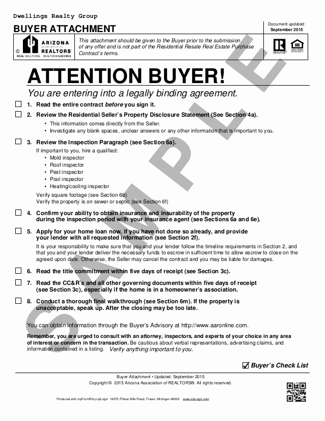 Free Real Estate Contract Best Of Blank Arizona Real Estate Purchase Contract Residential