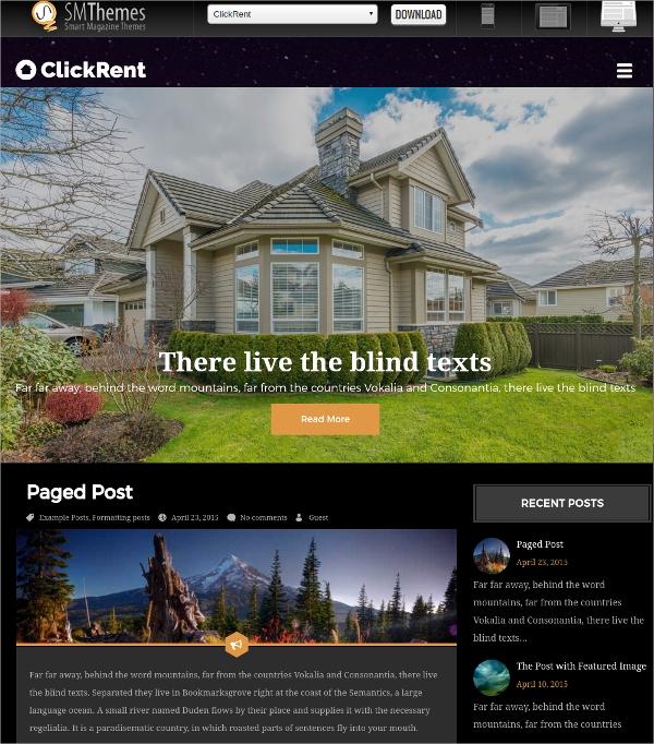 Free Real Estate Wordpress themes Awesome 15 Free Real Estate Agencies Realtors Wordpress themes