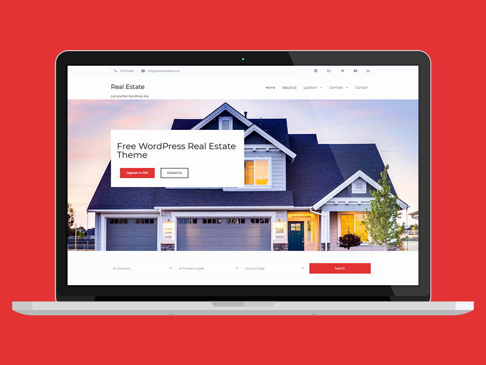 Free Real Estate Wordpress themes Beautiful Free Download Real Estate Lite Wordpress theme