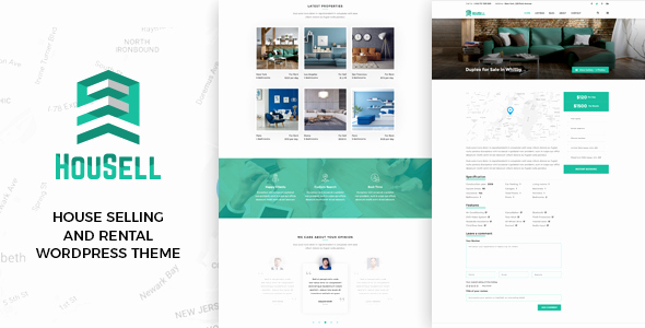 Free Real Estate Wordpress themes Beautiful Housell Modern Real Estate Wordpress theme Free Nulled