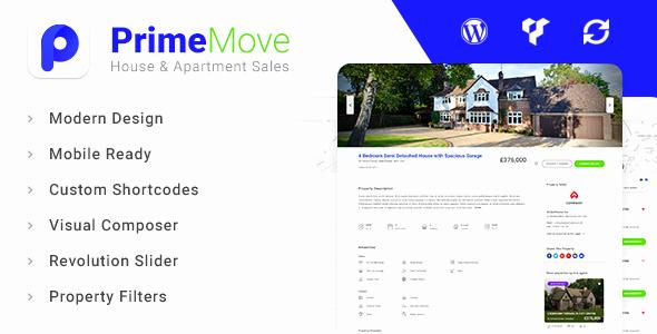 Free Real Estate Wordpress themes Beautiful Primemove Real Estate Property Wordpress theme Free
