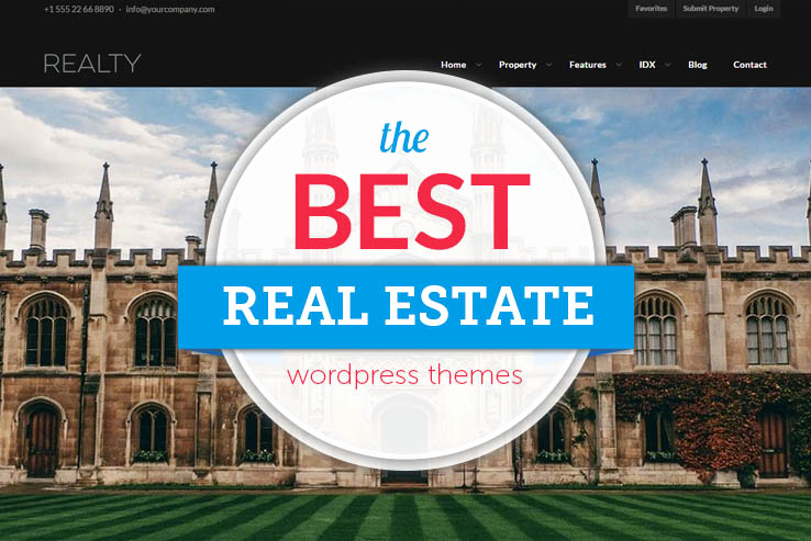 Free Real Estate Wordpress themes Best Of 43 Best Responsive Real Estate Wordpress themes 2018