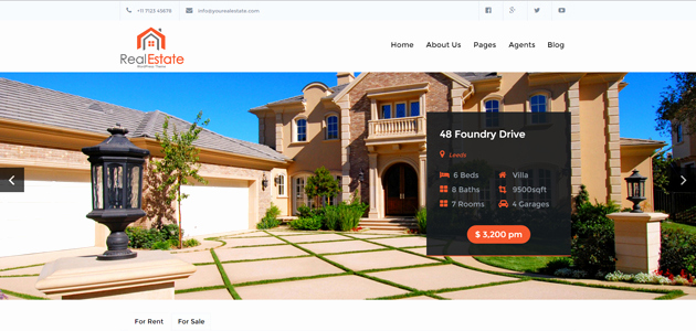 Free Real Estate Wordpress themes Best Of A Hand Picked Bundle Of Free and High Quality Wordpress