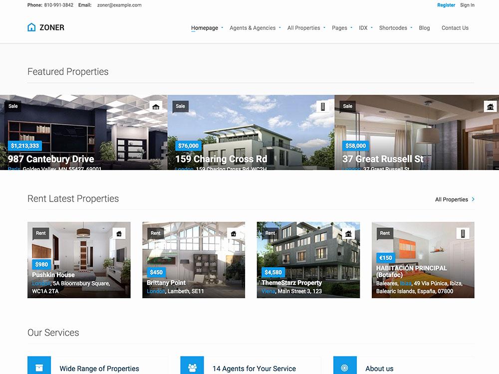 Free Real Estate Wordpress themes Inspirational 30 Best Real Estate Wordpress themes 2016 athemes