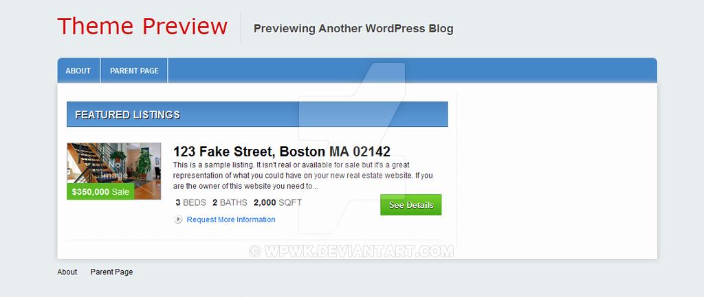 Free Real Estate Wordpress themes Lovely Columbus Free Real Estate Wordpress theme by Wpwk On