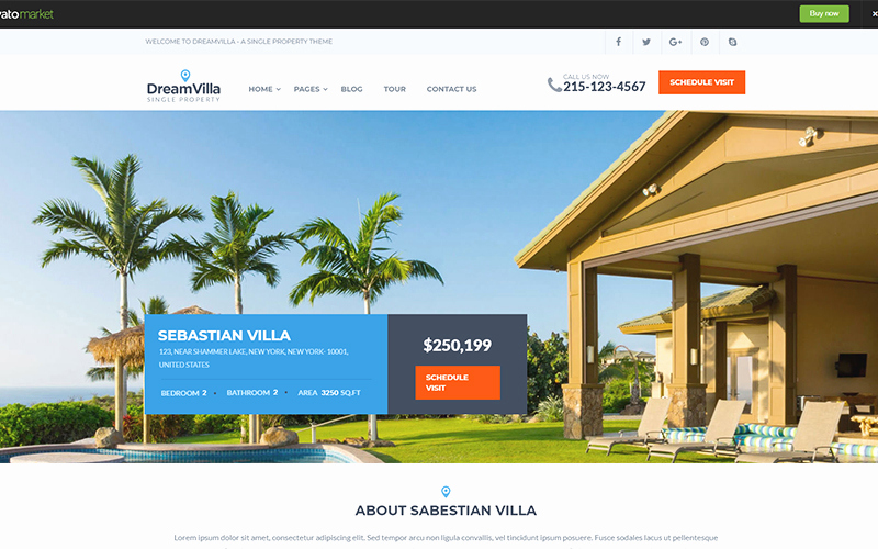 Free Real Estate Wordpress themes New Best Free Wordpress themes for Real Estate Websites