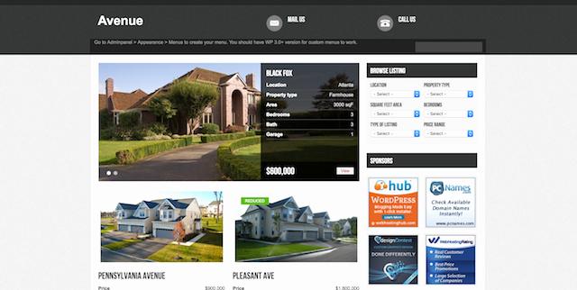 Free Real Estate Wordpress themes Unique Free Real Estate Wordpress themes that are Move In Ready
