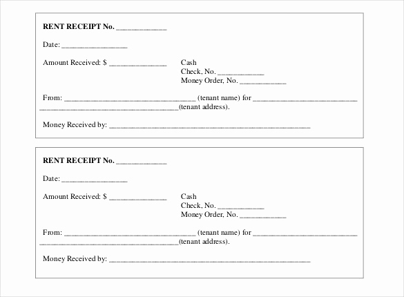 Free Rent Receipt Template Awesome 35 Rental Receipt Templates Doc Pdf Excel