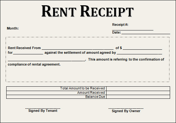 Free Rent Receipt Template Elegant Sample Rent Receipt Template 20 Download Free Documents