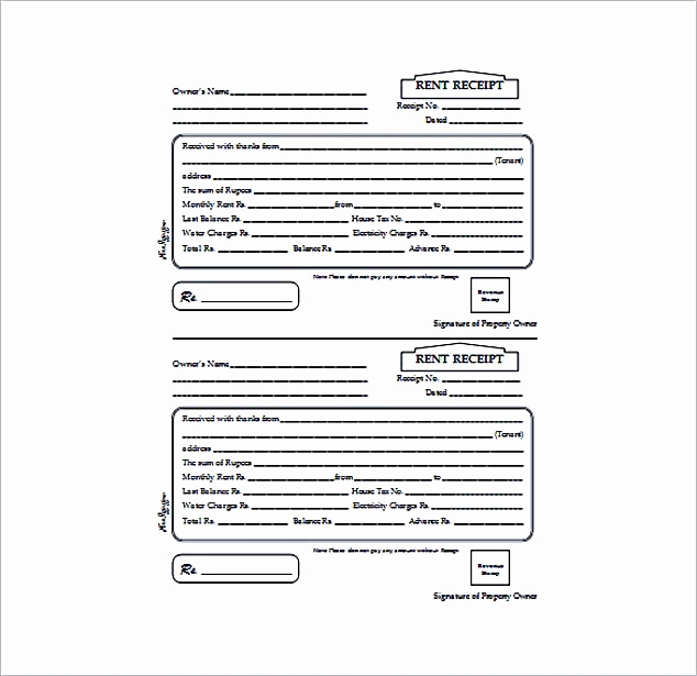 Free Rent Receipt Template New Free Rent Receipt Template and What Information to Include