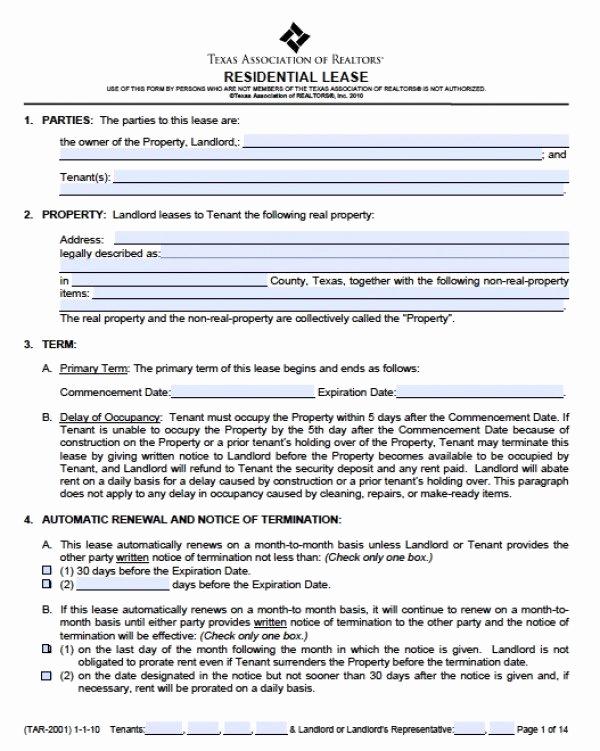 Free Rental Agreement Pdf Unique Rental Agreement In Spanish Pdf