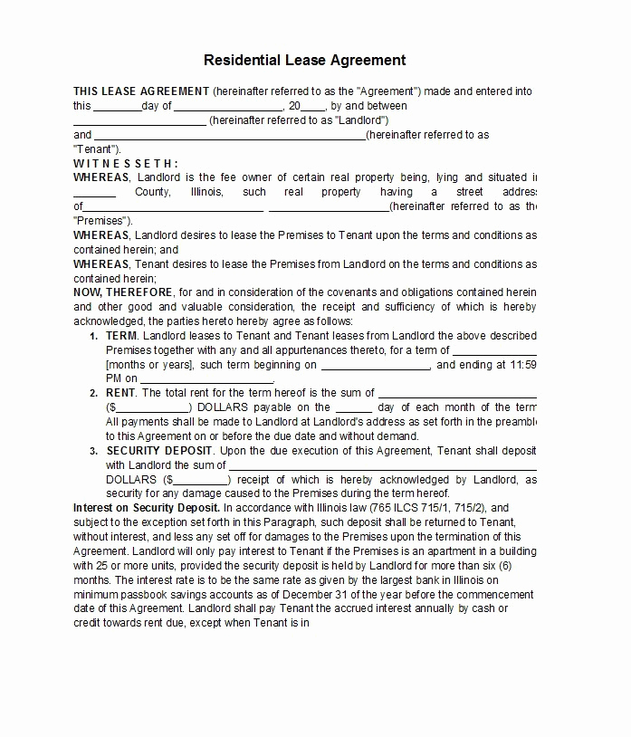 Free Rental Agreement Template Inspirational 42 Free Rental Application forms & Lease Agreement
