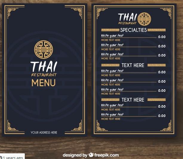 Free Restaurant Menu Templates Beautiful top 25 Free & Paid Restaurant Menu Templates