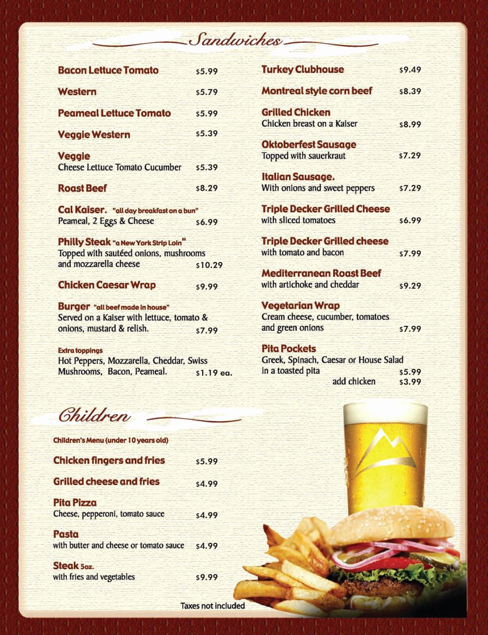 Free Restaurant Menu Templates Best Of 8 Menu Templates Excel Pdf formats