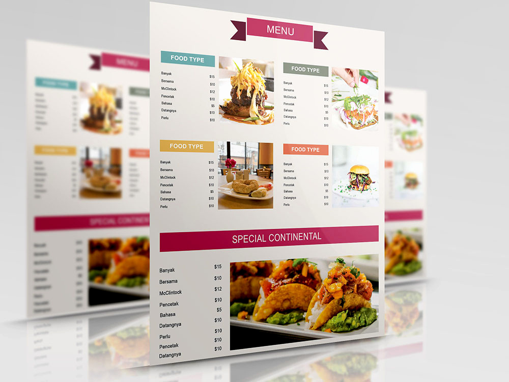 Free Restaurant Menu Templates Lovely 50 Free Psd Restaurant Flyer Menu Templates