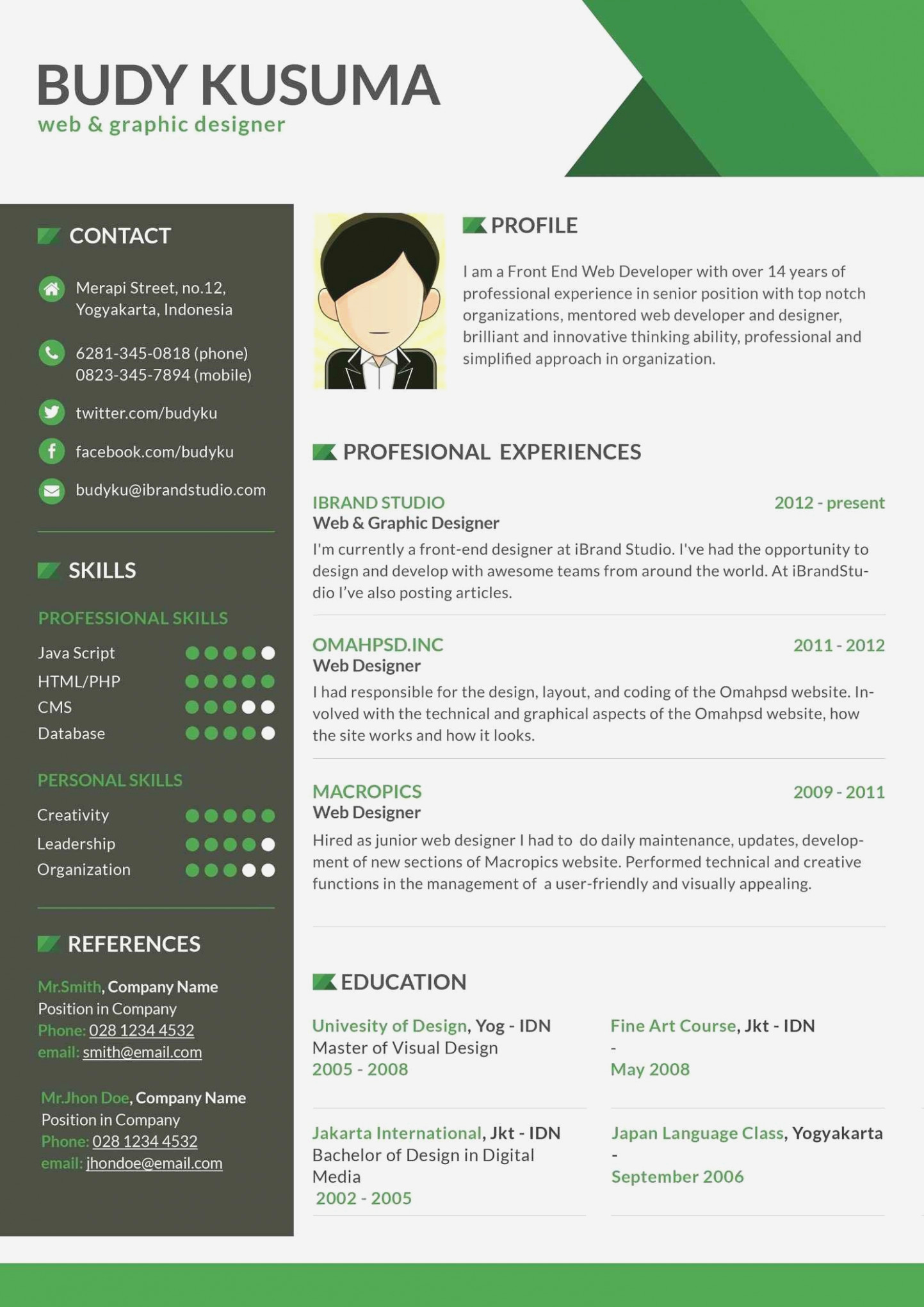 Free Resume Templates for Mac Fresh Never Underestimate the Influence