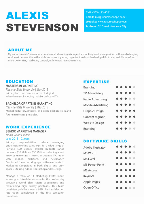 Free Resume Templates for Mac Inspirational Resume Templates for Mac Word & Apple Pages Instant