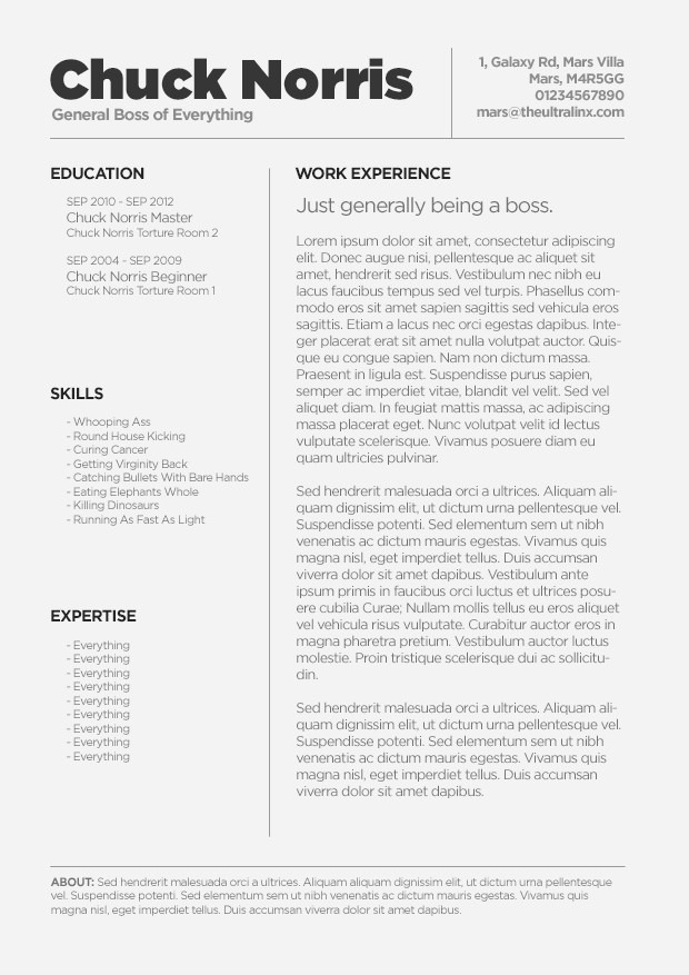Free Resume Templates for Mac Luxury Free Resume Templates for Mac