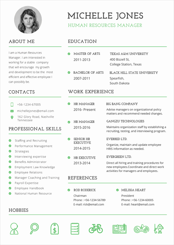 Free Resume Templates for Mac Unique 26 Word Professional Resume Template Free Download