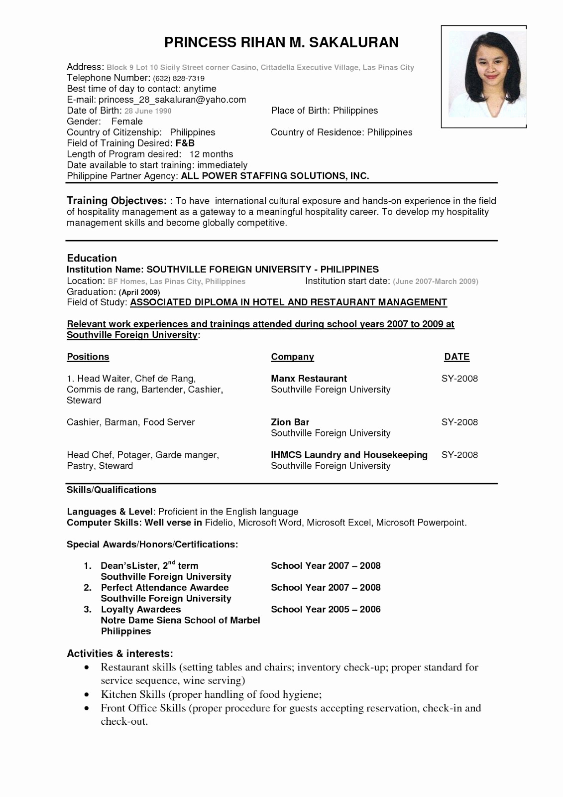 Free Resume Templates Pdf Lovely Resume Samples Pdf Sample Resumes Knowledge