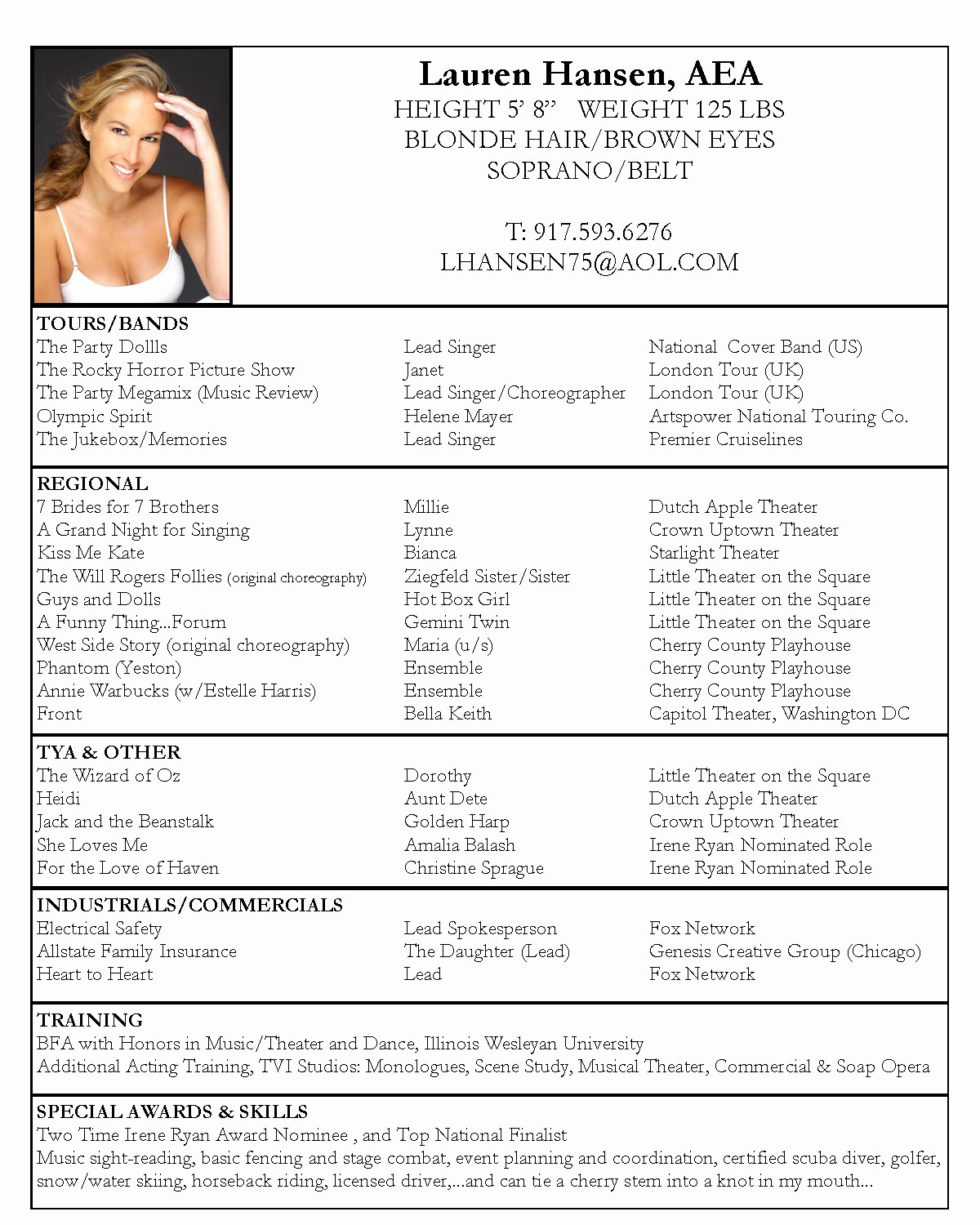 Free Resume Templates Pdf Unique Free Acting Resume Templates Samplebusinessresume