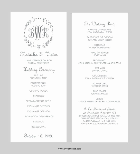 Free Sample Wedding Programs Templates Fresh Best 25 Wedding Program Templates Ideas On Pinterest